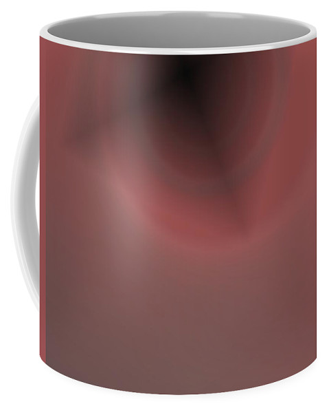 Abstract Coffee Mug featuring the digital art Constant Target by Pharris Art