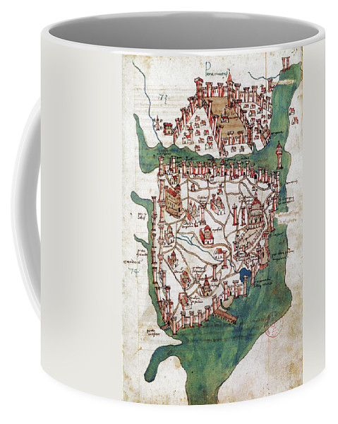 1420 Coffee Mug featuring the photograph Constantinople, 1420 by Granger