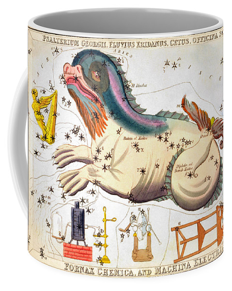 1825 Coffee Mug featuring the photograph Constellation: Cetus by Granger