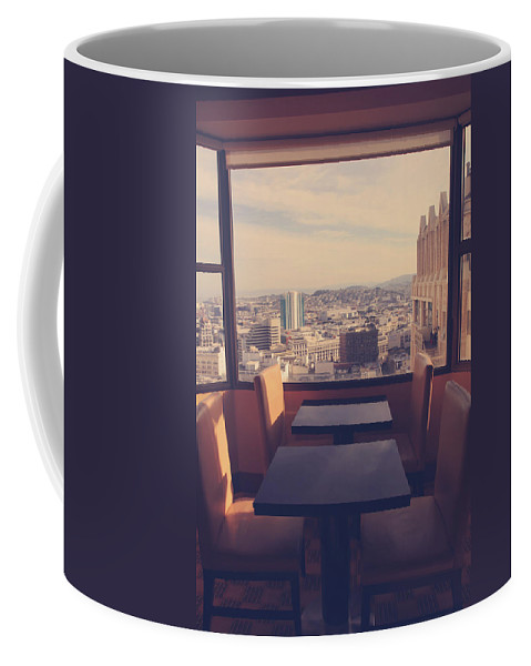 San Francisco Coffee Mug featuring the photograph Continental Breakfast by Laurie Search