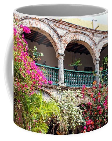 Cartagena Coffee Mug featuring the photograph Convento De La Popa Cartagena by Kurt Van Wagner