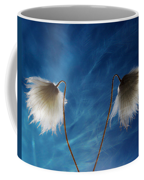 Flowers Coffee Mug featuring the photograph Conversing Wind by The Artist Project