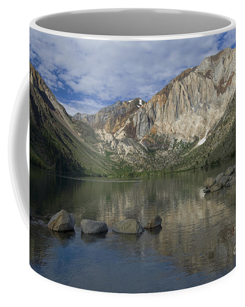 Convict Lake Coffee Mug featuring the photograph Convict Lake Reflection by Sandra Bronstein