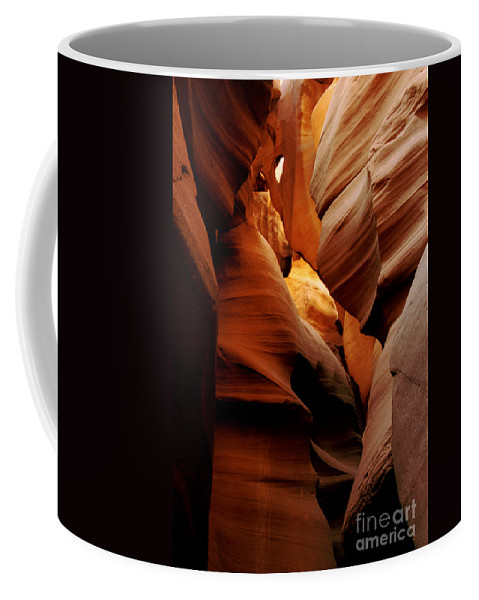 Antelope Canyon Coffee Mug featuring the photograph Convolusions by Kathy McClure