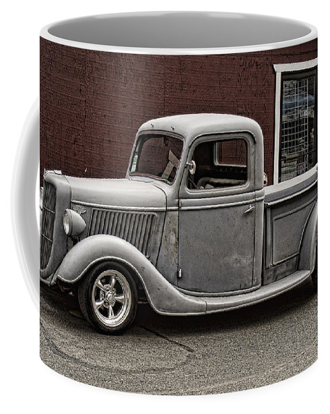 Ford Pick Up Coffee Mug featuring the photograph Cool Little Ford Pick Up by Ron Roberts