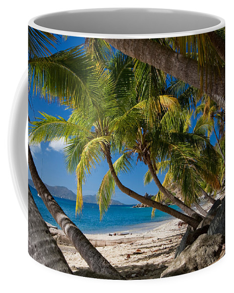 3scape Coffee Mug featuring the photograph Cooper Island by Adam Romanowicz