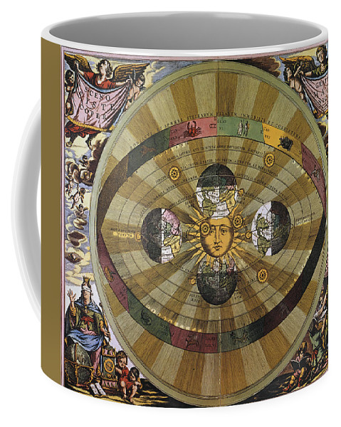 17th Century Coffee Mug featuring the photograph Copernican Universe by Granger