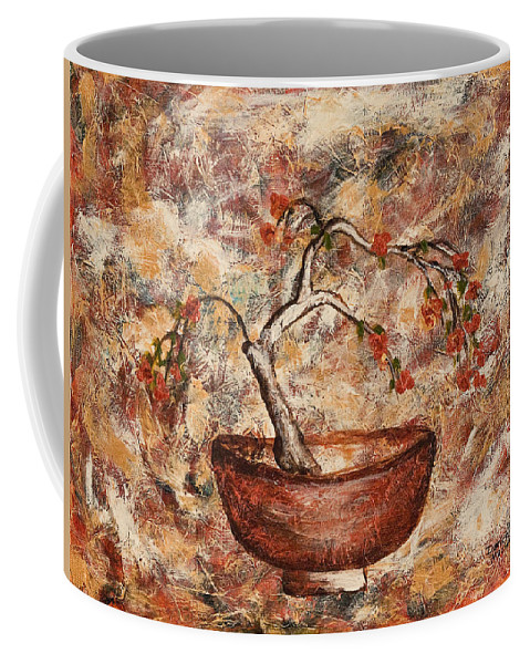 Copper Bowl Coffee Mug featuring the painting Copper Bowl by Darice Machel McGuire