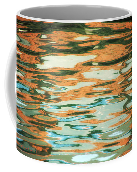 Water Coffee Mug featuring the photograph Coral Waves by Donna Blackhall