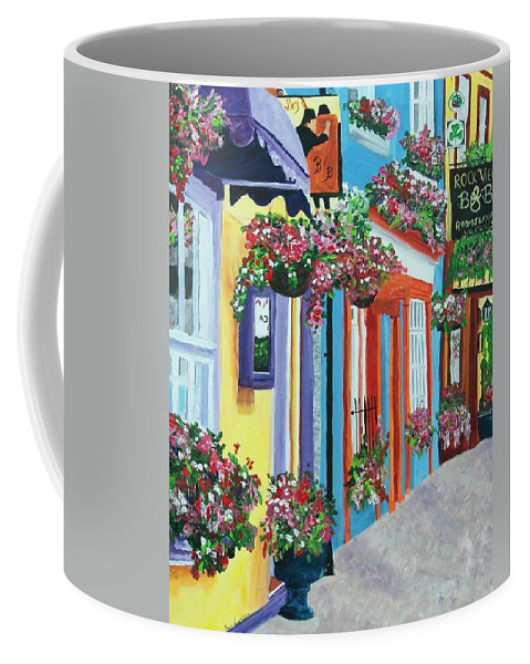 Cork Coffee Mug featuring the painting Cork by Frankie Picasso