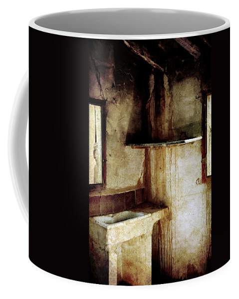 Lonely Coffee Mug featuring the photograph Corner Of Kitchen by RicardMN Photography