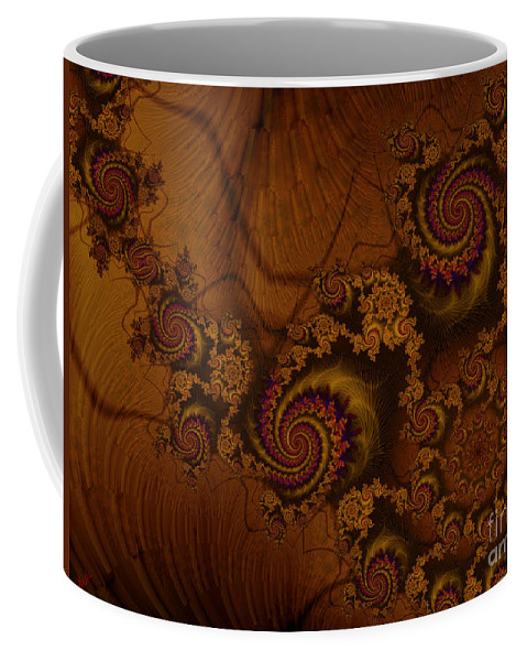 Corners Of The Mind Coffee Mug featuring the digital art Corners Of The Mind by Kimberly Hansen