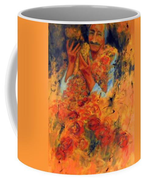 Meher Baba Paintings Coffee Mug featuring the painting Cornucopia Of Love by Joe DiSabatino