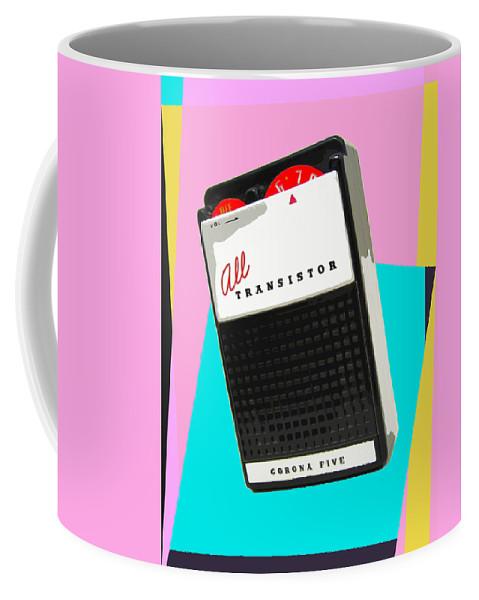 Pop Art Coffee Mug featuring the mixed media Corona Five by Dominic Piperata