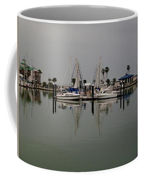 Corpus Christi Bay Coffee Mug featuring the photograph Corpus Christi Bay by Laurette Escobar