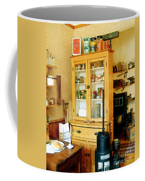 Antiques Coffee Mug featuring the painting Country Kitchen Sunshine IIi by RC deWinter