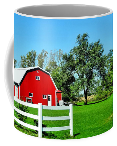 Country Living Coffee Mug featuring the photograph Country Living by Dan Sproul