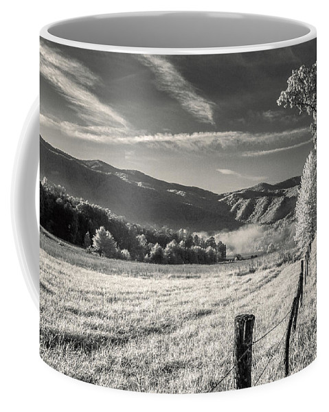 Road Coffee Mug featuring the photograph Country Road by Mary Almond