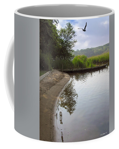 2d Coffee Mug featuring the photograph Cove by Brian Wallace