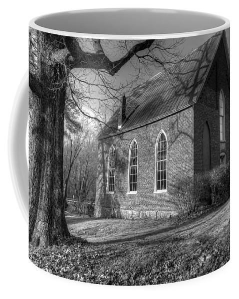 Cove Presbyterian Church Coffee Mug featuring the photograph Cove Presbyterian Church by Cindy Archbell