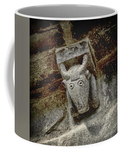 Animal Representation Coffee Mug featuring the photograph Cow Representation by Bernard Jaubert