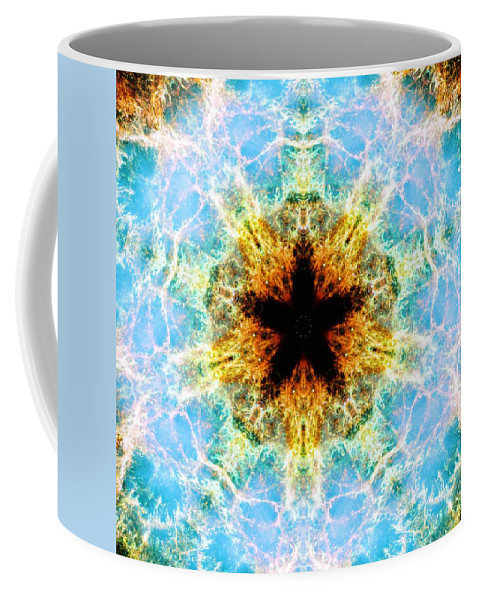Crab Nebula Iv Coffee Mug featuring the photograph Crab Nebula Iv by Derek Gedney