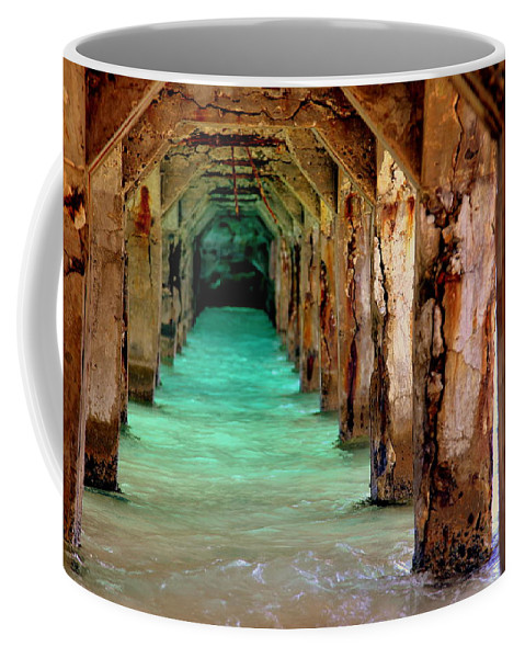 Time Passages Coffee Mug featuring the photograph Time Passages by Karen Wiles