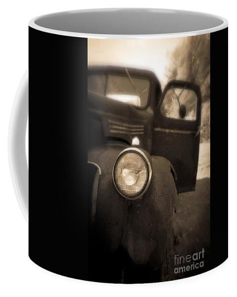 Truck Coffee Mug featuring the photograph Crash by Edward Fielding