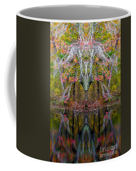 Coffee Mug featuring the photograph Creation 253 by Mike Nellums