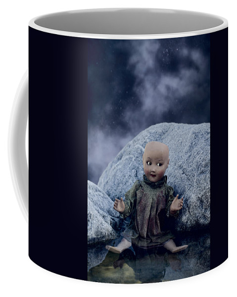 Doll Coffee Mug featuring the photograph Creepy Doll by Joana Kruse
