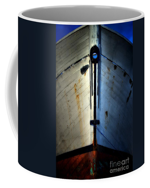 Abstract Coffee Mug featuring the photograph Cross Bow by Lauren Leigh Hunter Fine Art Photography