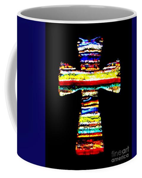 Cross Coffee Mug featuring the photograph Cross by Tim Townsend