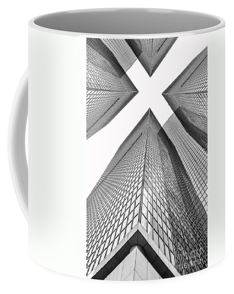 Los Coffee Mug featuring the photograph Crossed by Az Jackson