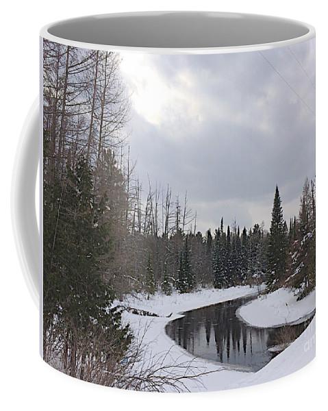 Jordan River Coffee Mug featuring the photograph Crossing.jpg by Joseph Yarbrough
