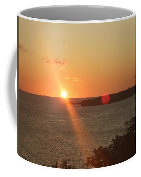 Coffee Mug featuring the photograph Cruise Into The Sun by Katerina Naumenko