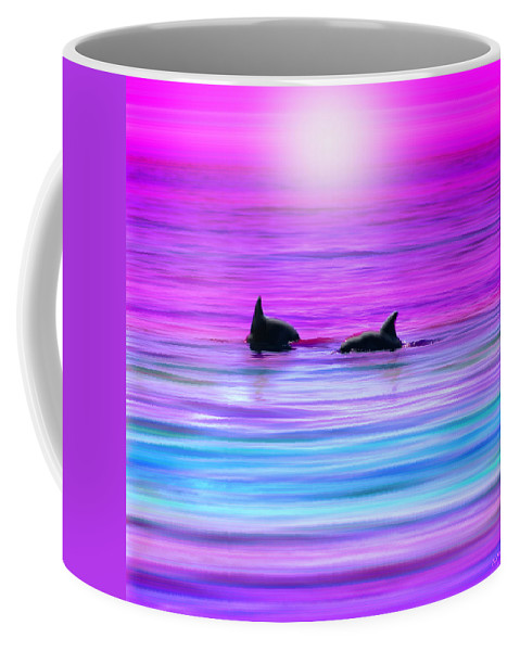 Seascapes Coffee Mug featuring the photograph Cruisin' Together by Holly Kempe