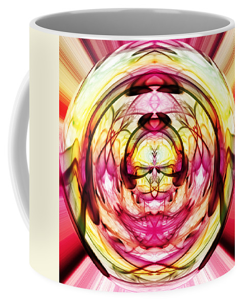 Crystal Ball Coffee Mug featuring the photograph Crystal Ball 1 by Steve Purnell