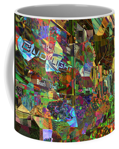 Night Market Coffee Mug featuring the photograph Night Market - Outdoor Markets Of New York City by Miriam Danar