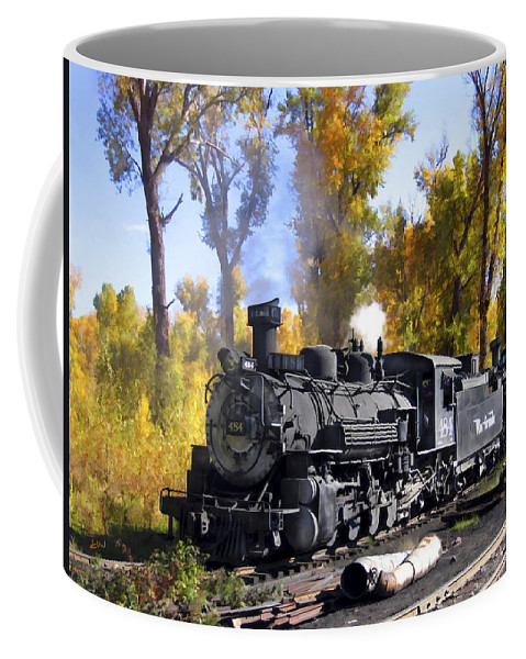 Train Coffee Mug featuring the photograph Cumbres And Toltec Railroad by Kurt Van Wagner