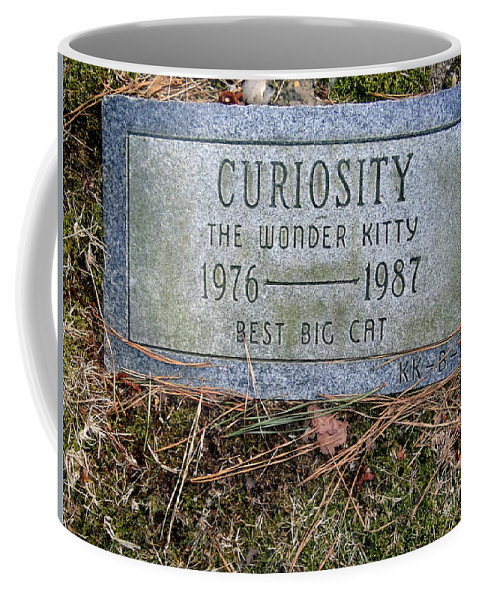 Tombstone Coffee Mug featuring the photograph Curiosity by Ed Weidman