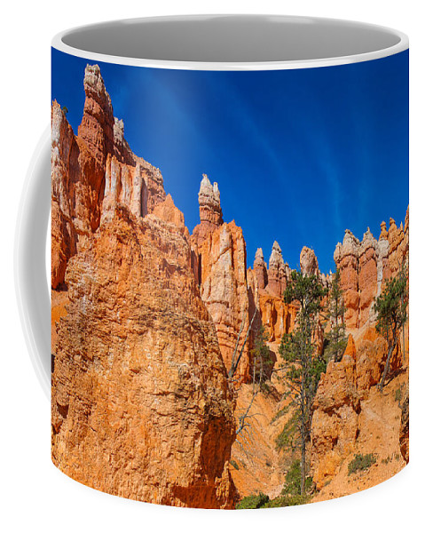 Landscape Coffee Mug featuring the photograph Curiouser And Curiouser by John M Bailey