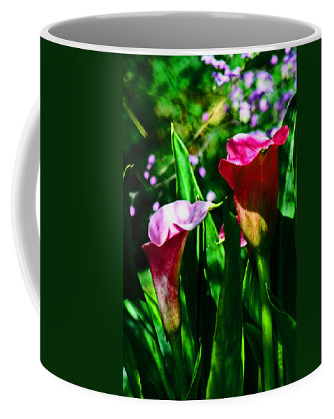 Florist Coffee Mug featuring the digital art Cut Flowers by Joseph Coulombe