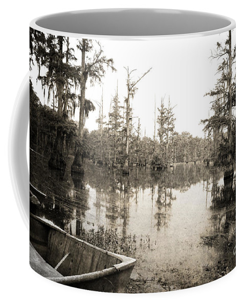 Swamp Coffee Mug featuring the photograph Cypress Swamp by Scott Pellegrin
