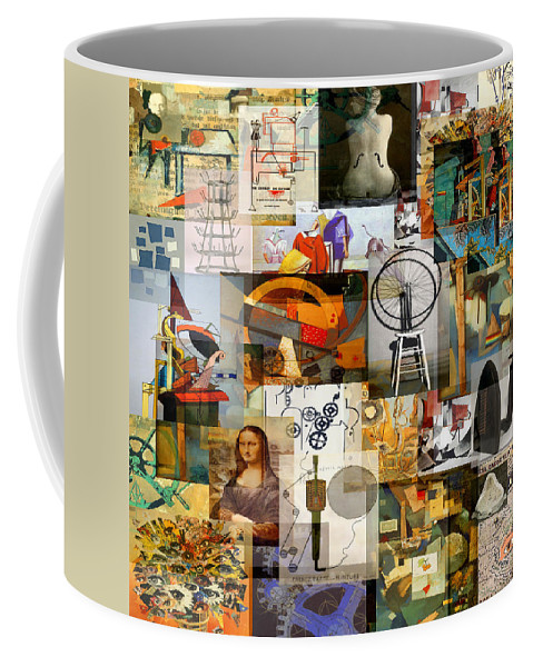 Art Coffee Mug featuring the mixed media Dada Movement 1916 To 1922 by Anders Hingel