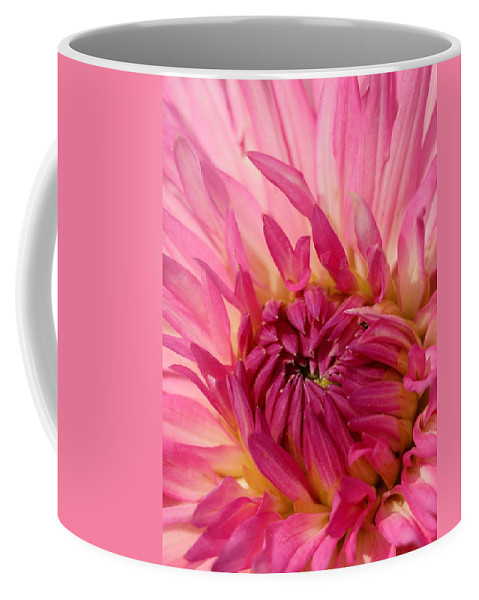 Flower Coffee Mug featuring the photograph Dahlia 2am-104251 by Andrew McInnes