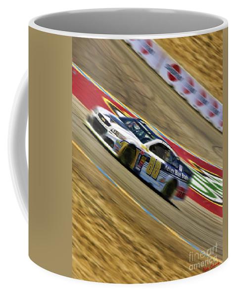 Dale Earnhardt Jr. Coffee Mug featuring the photograph Dale Earnhardt Jr. 2014 by Blake Richards