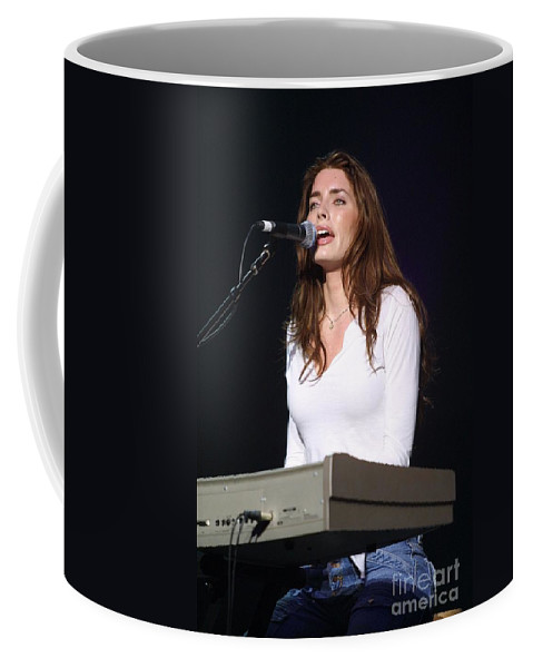 Appearance Coffee Mug featuring the photograph Dana Glover by Concert Photos