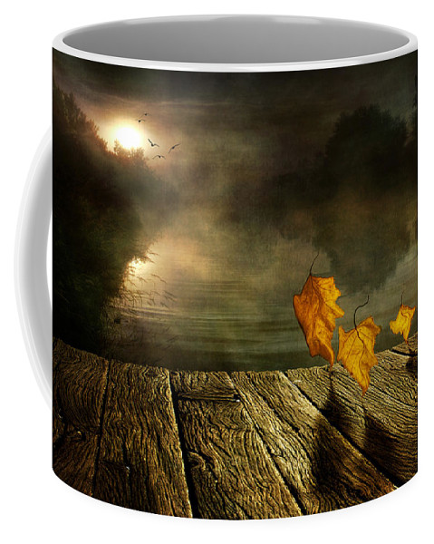 Art Coffee Mug featuring the photograph Dance To The Sun by Veikko Suikkanen