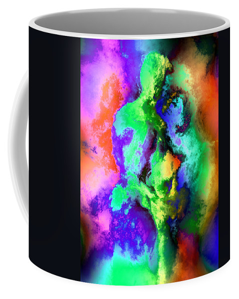 Nudes Coffee Mug featuring the photograph Dancers by Kurt Van Wagner