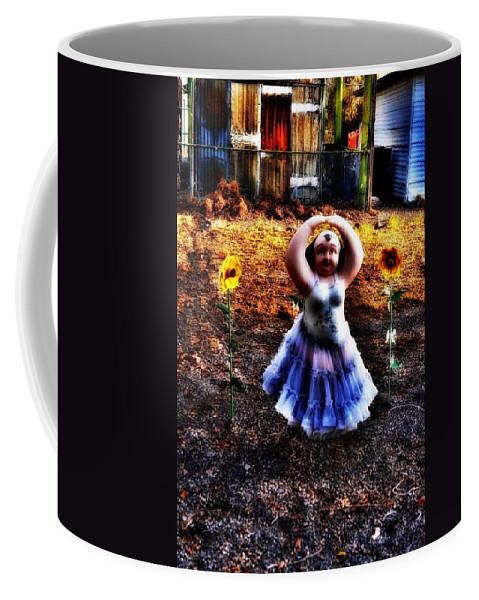 Melba Coffee Mug featuring the photograph Dancing by Image Takers Photography LLC - Carol Haddon